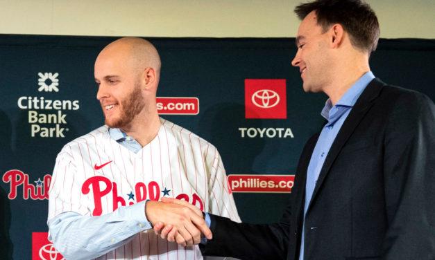Zack Wheeler using questioning Brodie Van Wagenen as Phillies inspiration